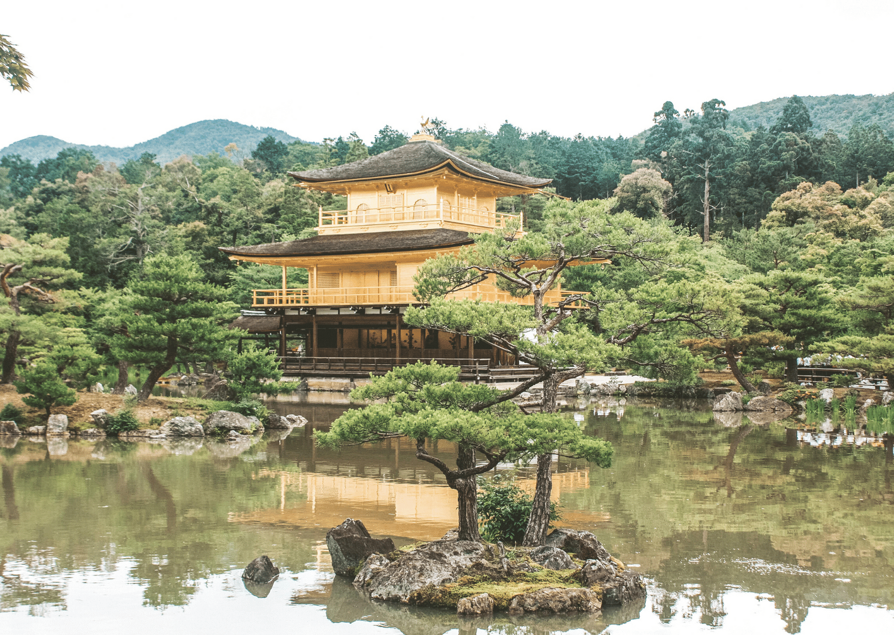 golden temple in kyoto itinerary japan