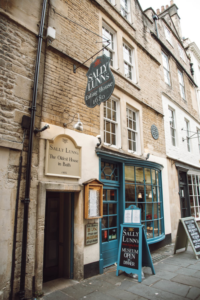 Sally Lunn's bun house in Bath