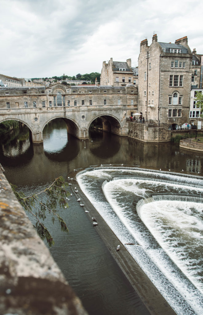 Pulteney Bridge, Bath South England road trip itinerary