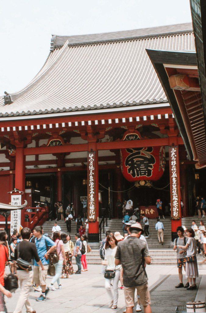 Sensōji temple Tokyo Japan 4 days itinerary