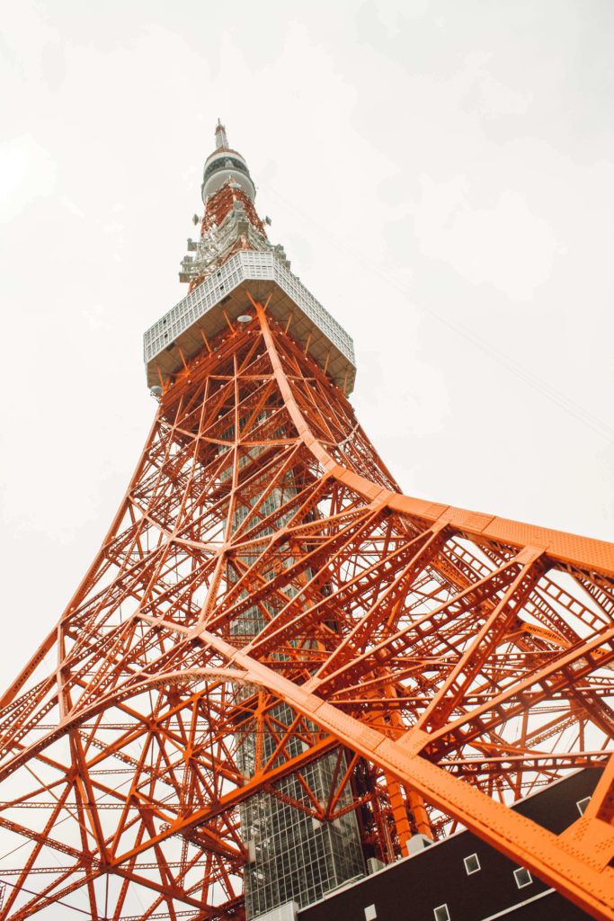 Tokyo tower tokyo 4 days itinerary