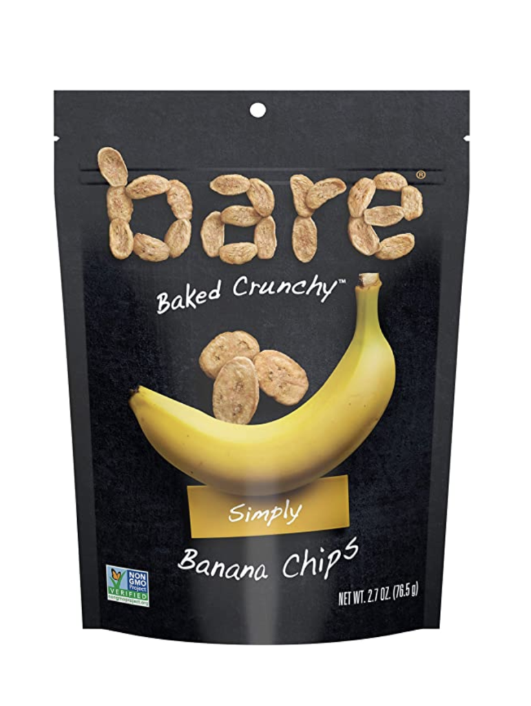 bare banana chips