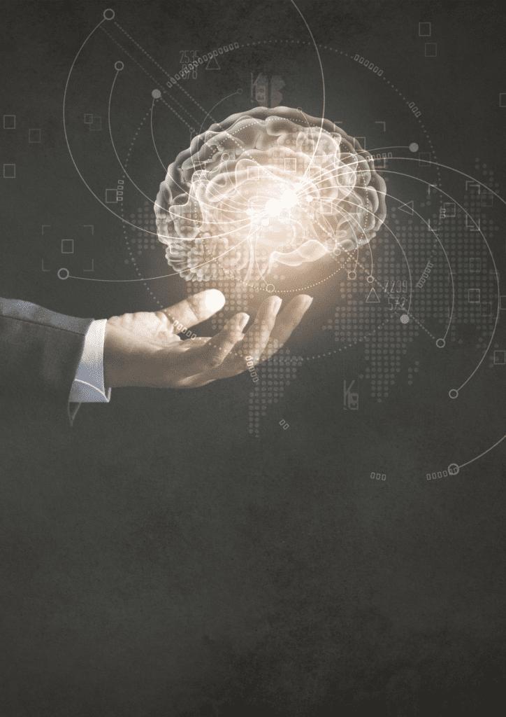 brain over hand for mindset