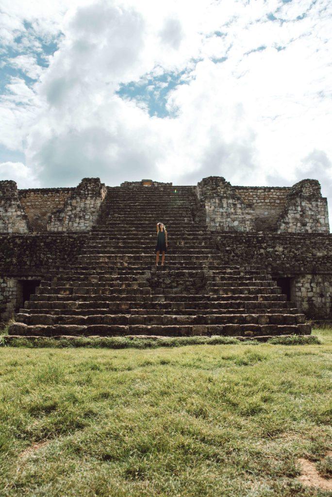 Ek Balam ruins Oval Palace