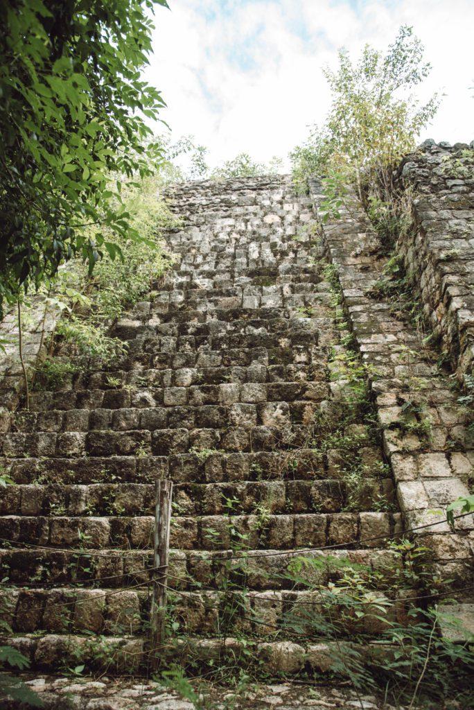 Ek Balam ruins stairs