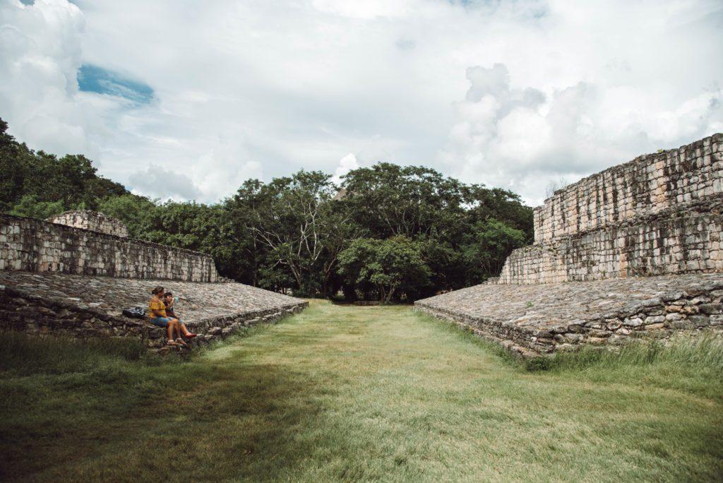 Ek Balam ruins Ballcourt