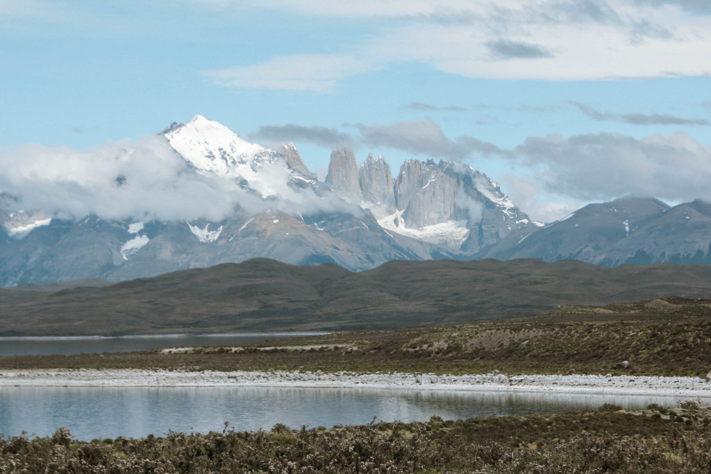 Torres del paine view of towers