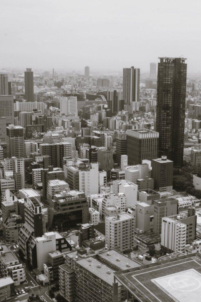 Osaka itinerary Views from Umeda Sky Building Osaka day trip