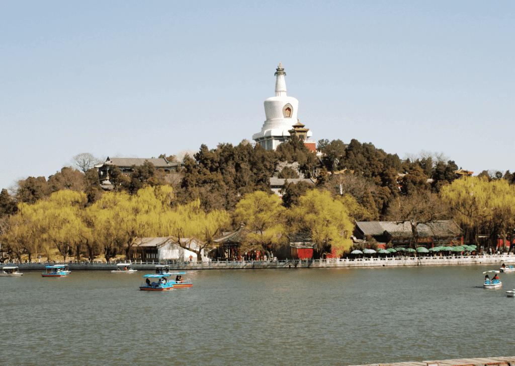 Beihai Park, beijing itinerary