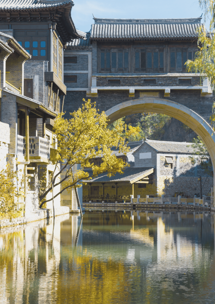 Gubei itinerary for Beijing water town