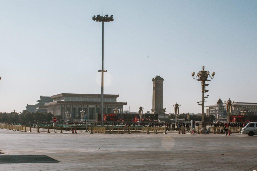 Tiananmen Square Beijing itinerary