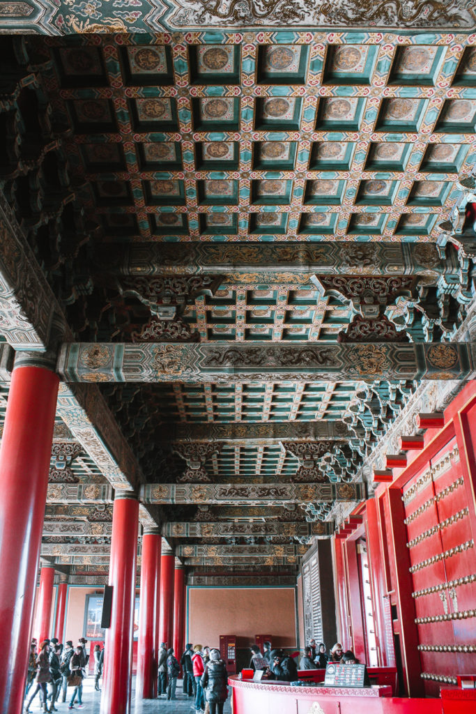 itinerary for Beijing, Forbidden City