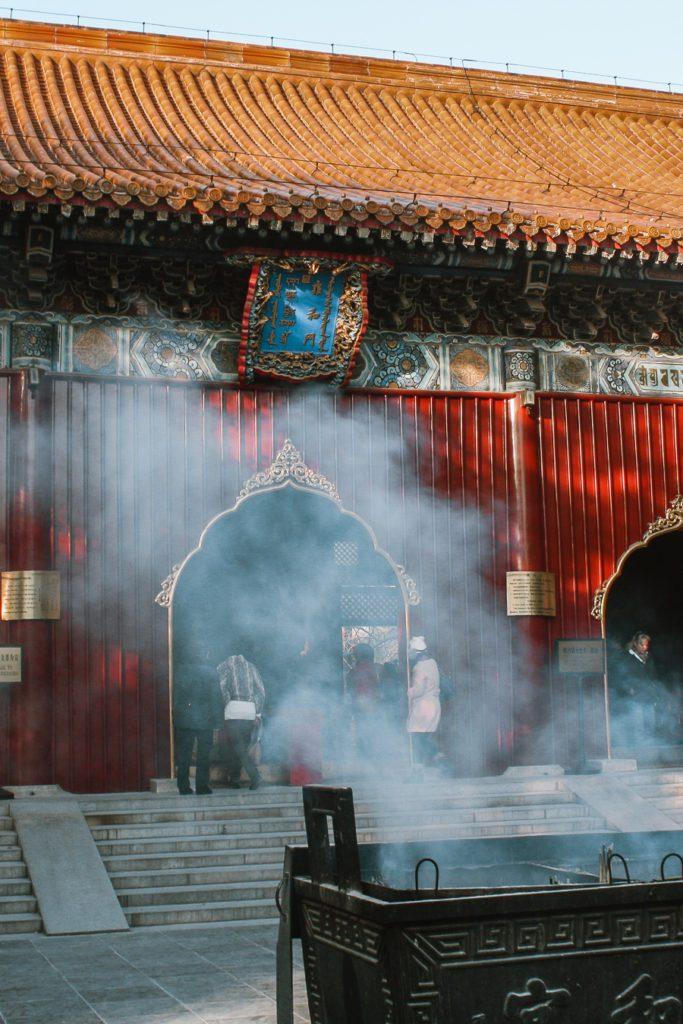 Lama Temple Beijing itinerary