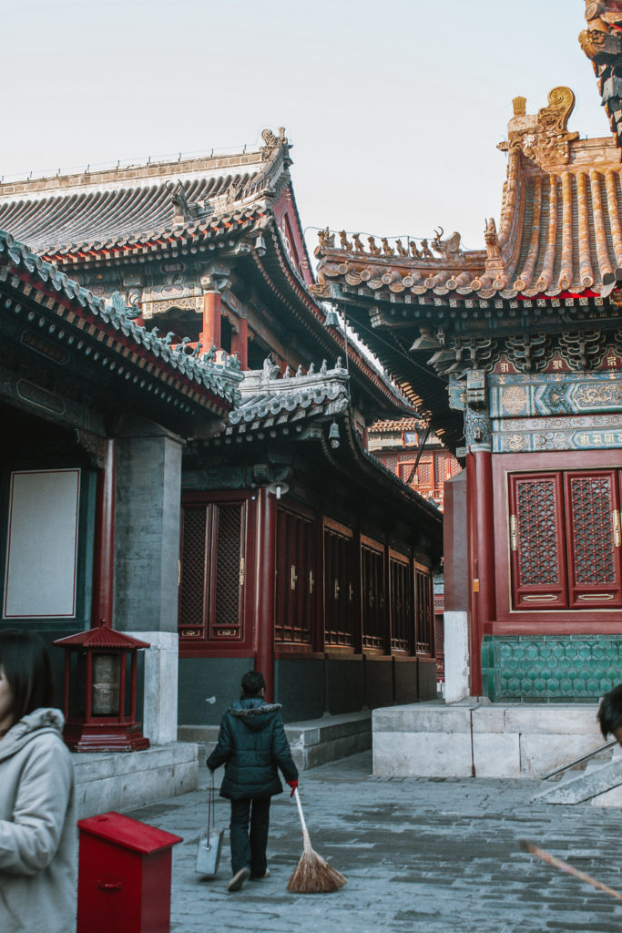 Itinerary for Beijing Lama Temple