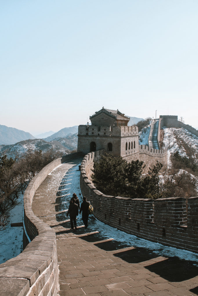 The Great Wall of China, Beijing Itinerary