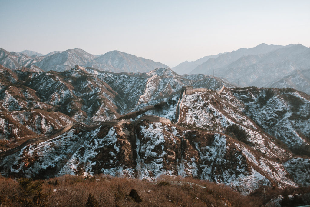 The Great Wall of China Beijing itinerary