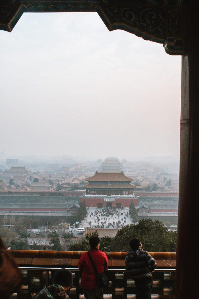 View from Jingshan Park Beijing