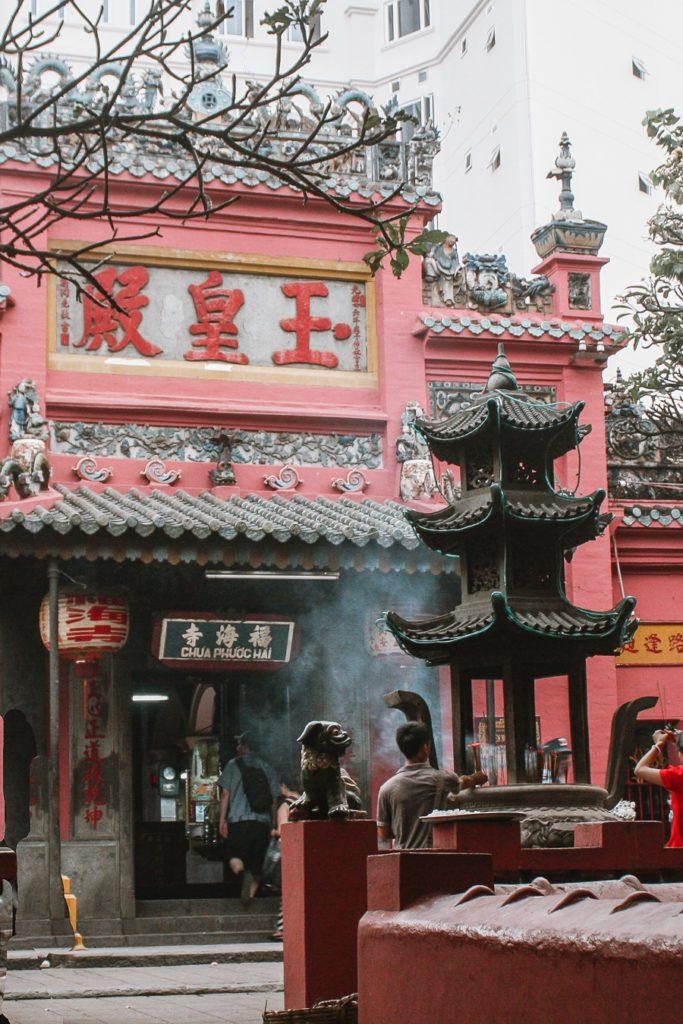 Ngoc Hoang Pagoda Ho Chi Minh City Vietnam