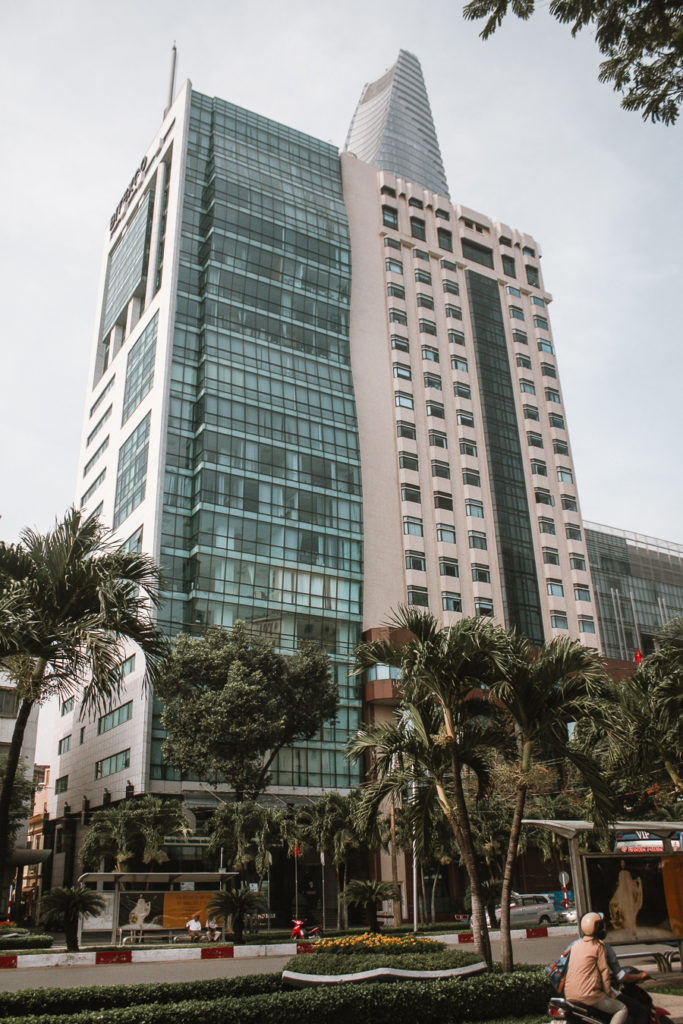 Tall buildings in Ho chi Minh City itinerary