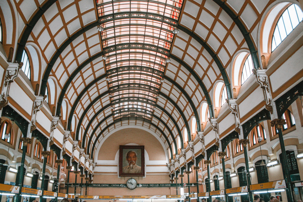 Saigon Central Post office architecure