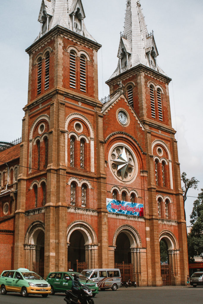 Notre Dame Cathedral Ho Chi Minh City itinerary