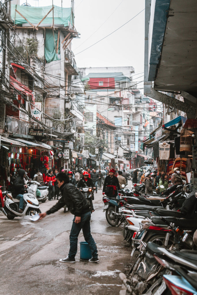Hanoi itinerary 4 days- old quarter hanoi