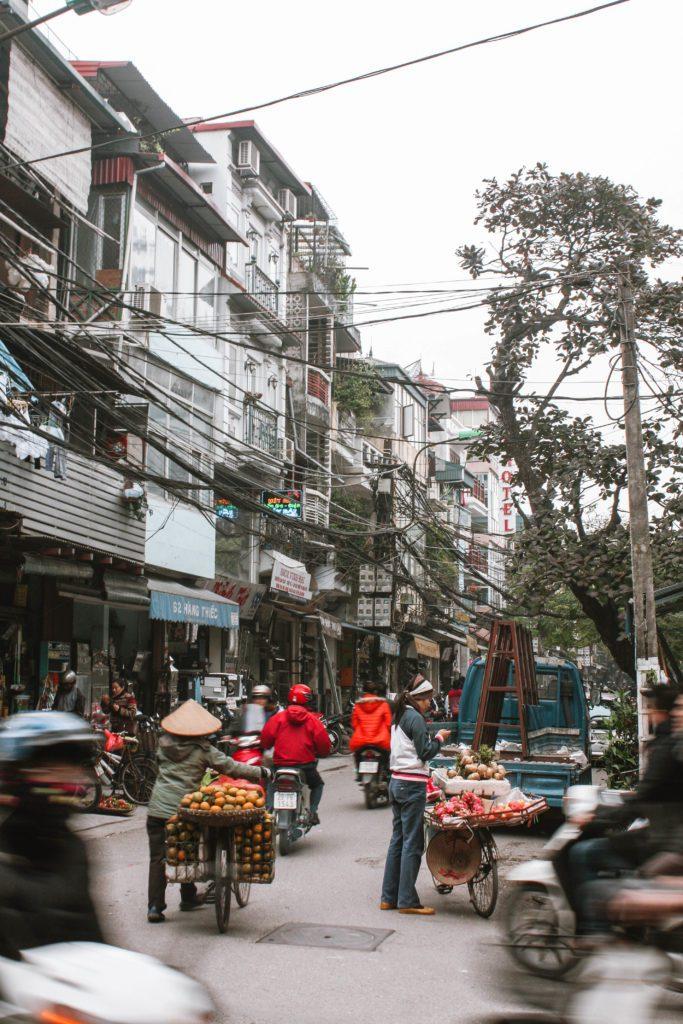 Old Quarter- Hanoi itinerary 4 days