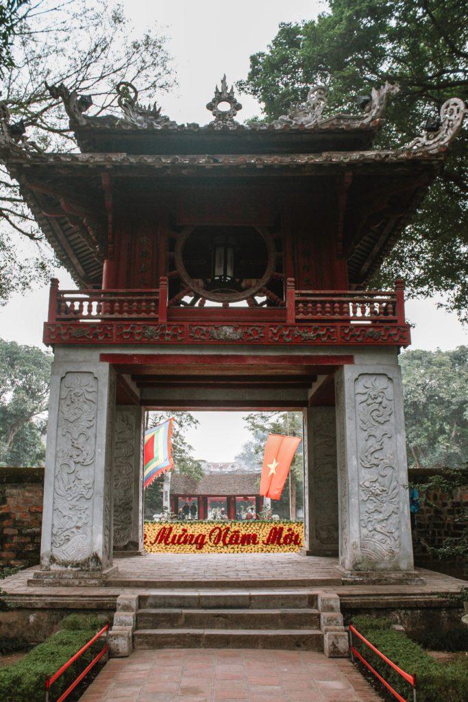 North Gate Thang Long Citadel
