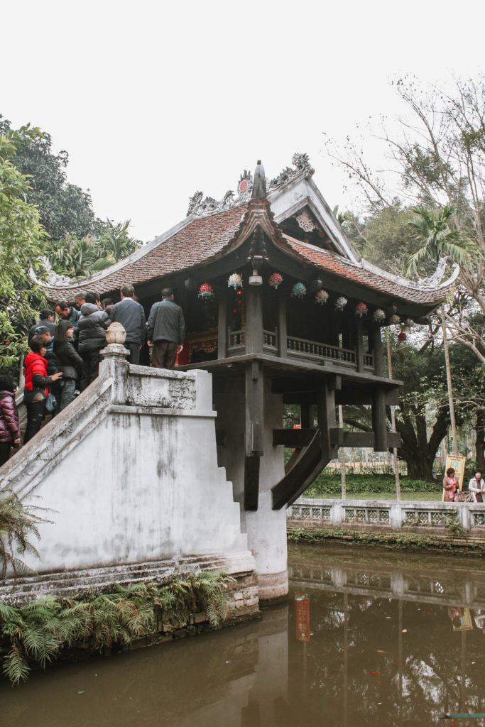 One Pillar Pagoda Hanoi itinerary 4 days