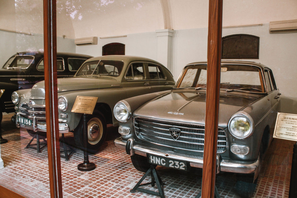 Ho Chi Minh car collection