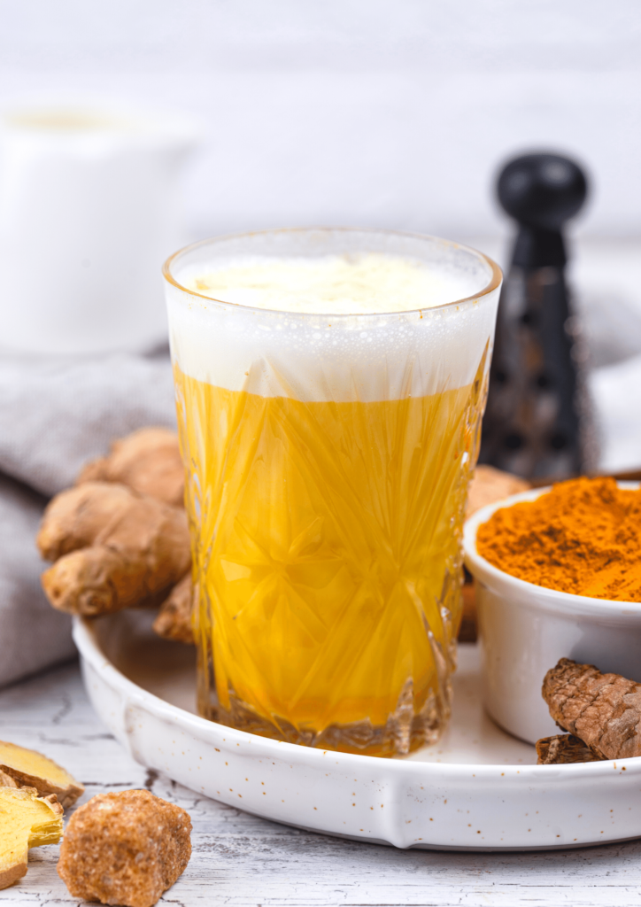 ginger turmeric shot