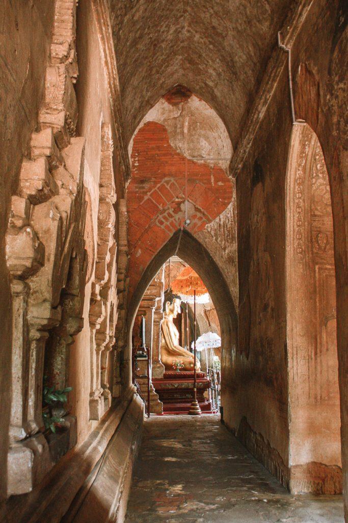 Corridor at Htilominlo Bagan