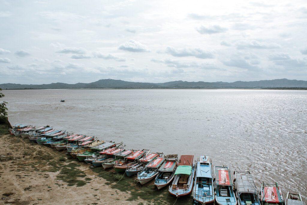 Irrawaddy river Bagan itinerary