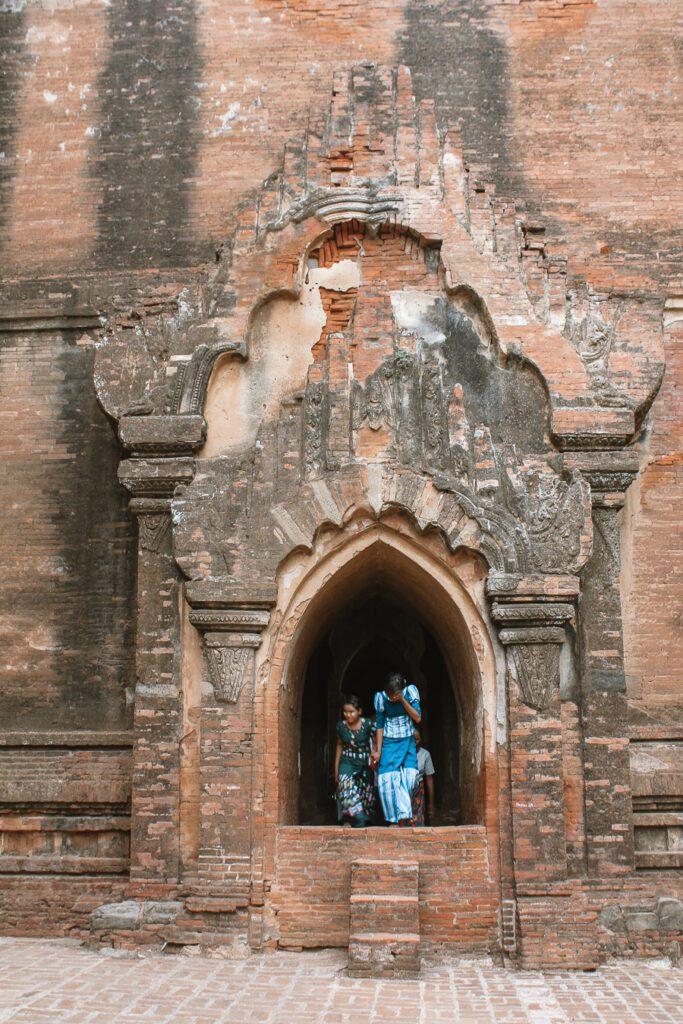 Dhammmayan Gyi Temple Bagan