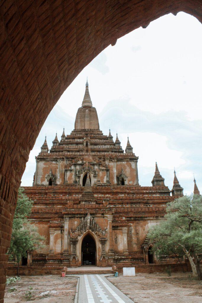 Sulamani Temple bagan itinerary