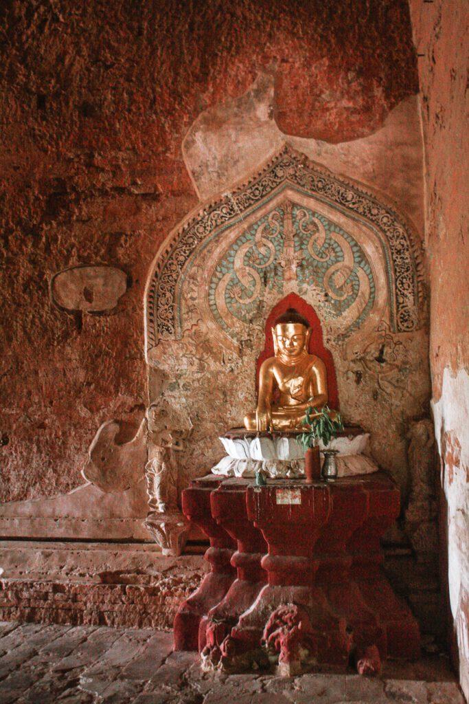Buddha at Sulamani Temple Bagan