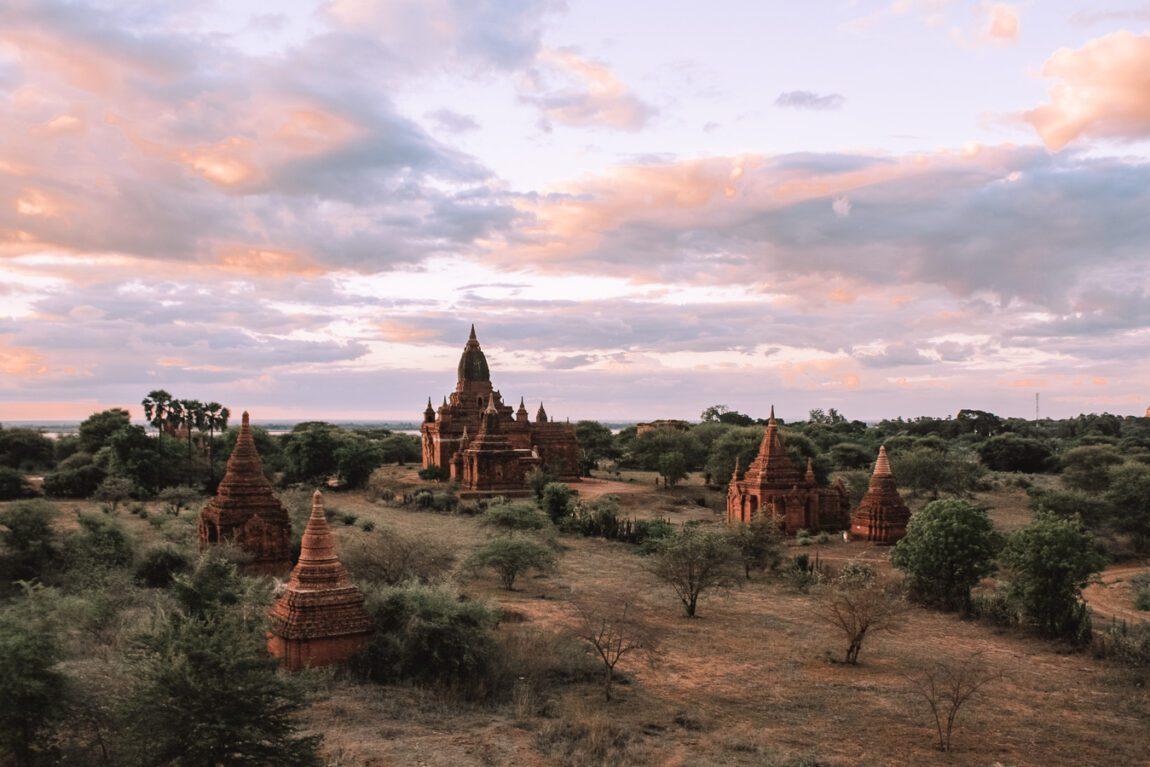 Bagan sunset bagan itinerary
