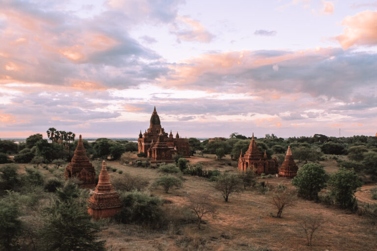 Bagan sunset bagan itinerary