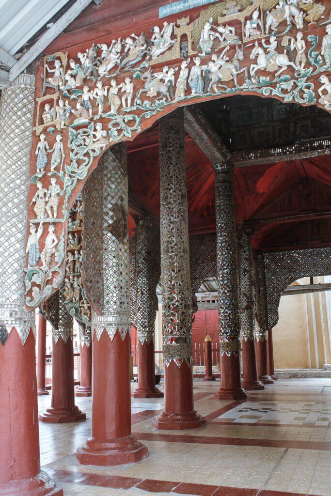 bagan itinerary shwezigon pagoda