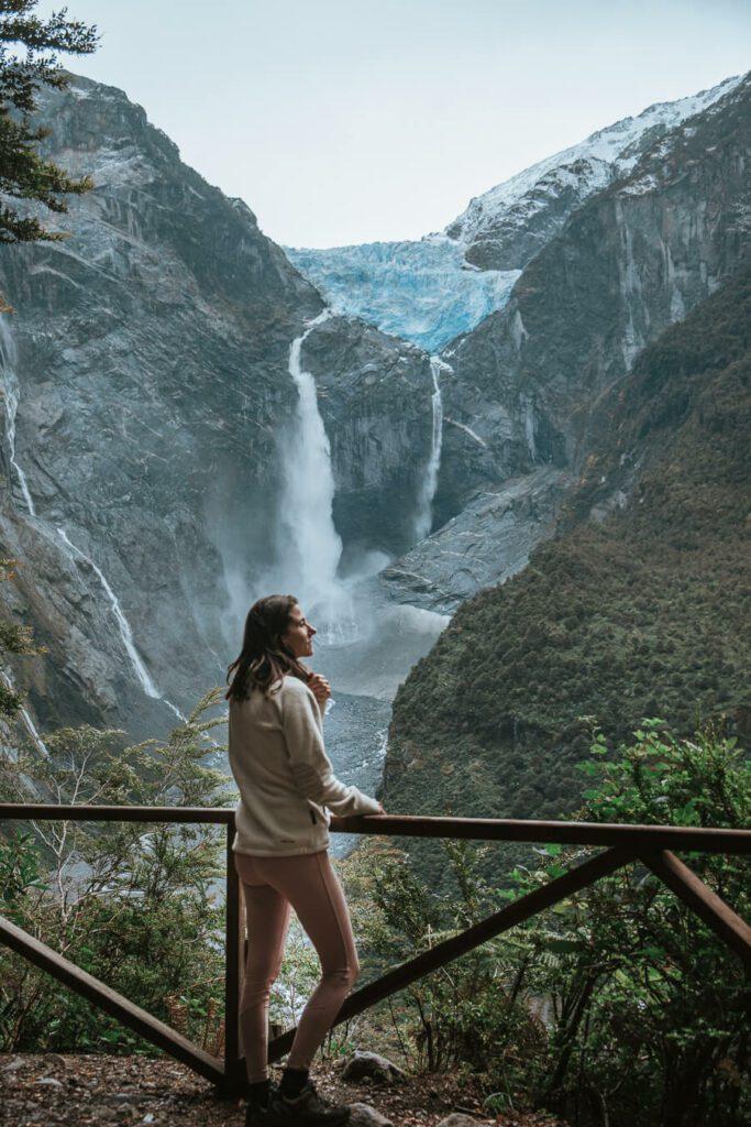 ventisquero colgante hanging glacier