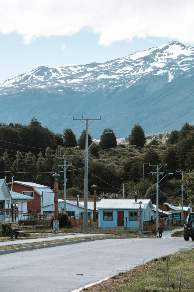 Rio Puerto Tranquillo Patagonia Chile