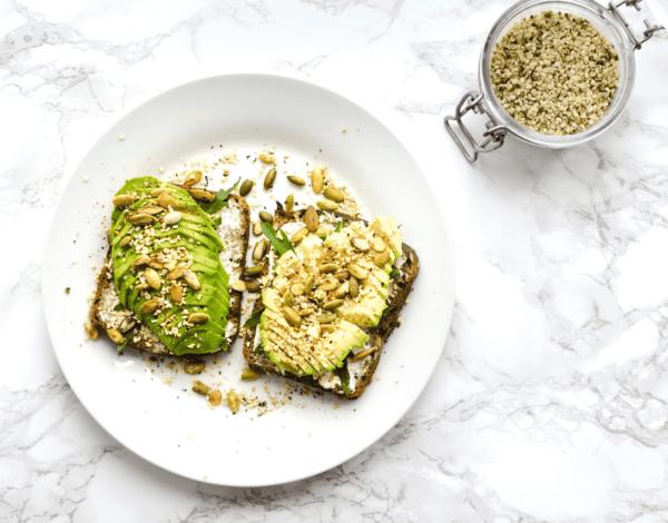 reasons not to be vegan avocado toast