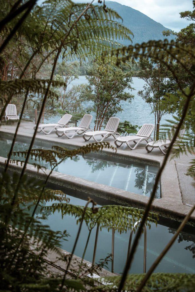Puyuhuapi Lodge and Spa thermal baths