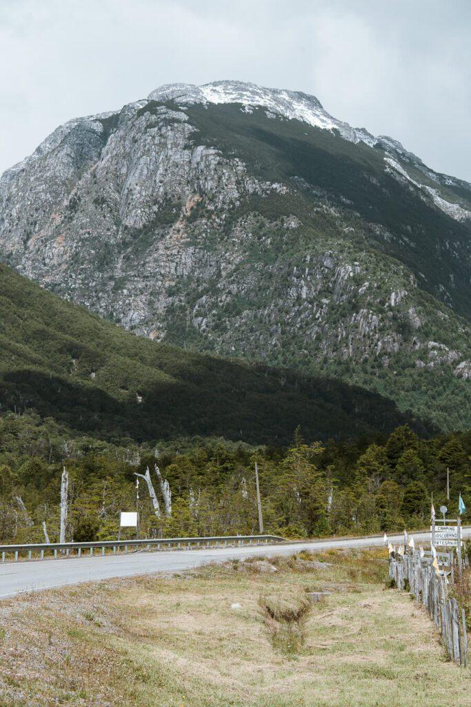 Carretera austral itinerary roadside views