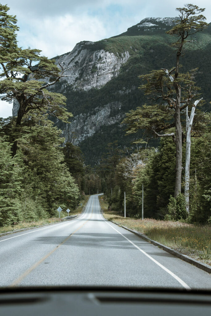 Carretera Austral itinerary roads
