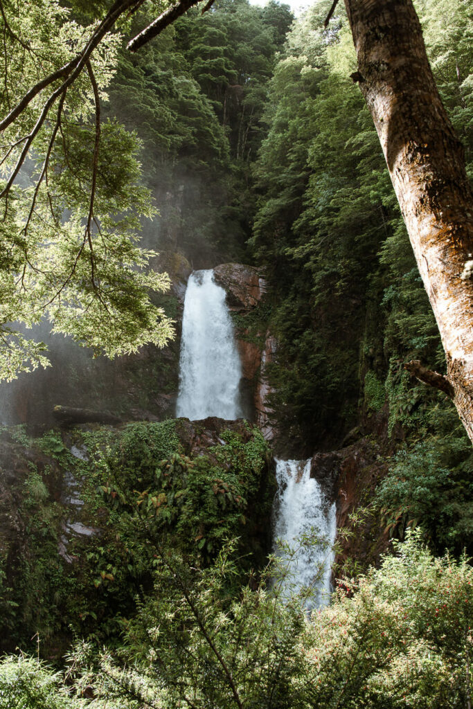 Waterfall Carretera Austral Chile