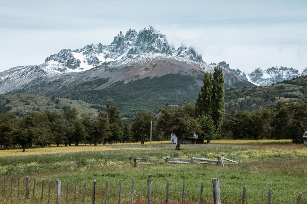 Cerro Castillo peaks Carretera Austral itinerary