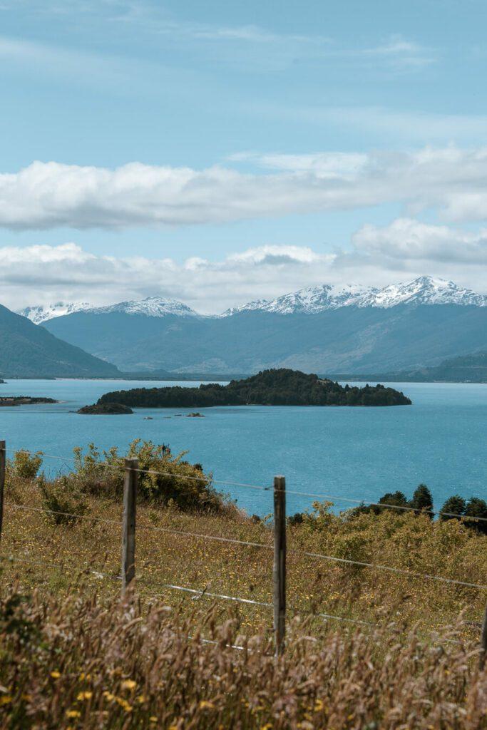 Lake views along the Carretera Austral itinerary