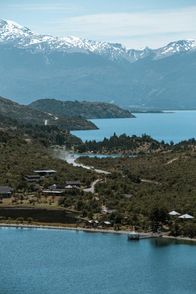 Lake views Carretera Austral Chile