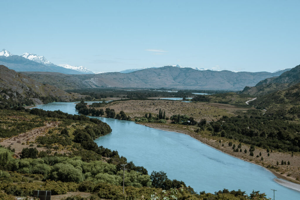 Landscapes during a Carretera Austral itinerary